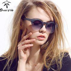 Cheap gafas mujer, Buy Quality retro sun glasses directly from China sun glasses round Suppliers: 2016 New Women Brand Designer Vintage Sunglasses Woman Semi-rimless Retro Sun Glasses Round Oculos De Sol Masculino Gafas Mujer