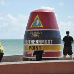 Key West, FL. Southern most point of the US. 90 miles from Cuba