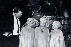The Creator and The Talosians | A 1964 on set picture of Gen… | Flickr