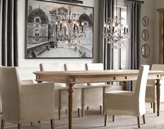 st. james dining table | restoration hardware-- another great