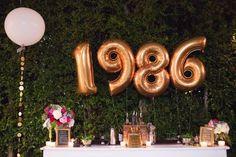 Julie Sariñana's 30th birthday party