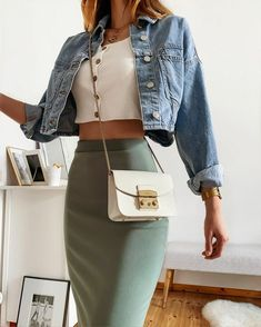 Everyday Casual Outfits, Cute Summer Outfits, Cute Casual Outfits, Spring Outfits, Casual Dresses, Mode Outfits, Skirt Outfits, Fashion Outfits, Mode Style
