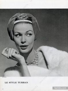 Paulette millinery, 1957