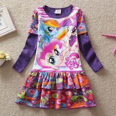 $7.61 (Buy here: https://alitems.com/g/1e8d114494ebda23ff8b16525dc3e8/?i=5&ulp=https%3A%2F%2Fwww.aliexpress.com%2Fitem%2FChildren-Clothing-New-2016-Fashion-Baby-Dress-Cartoon-My-Pony-Girls-Clothes-Girl-Dress-Long-Sleeve%2F32636823648.html ) Children Clothing New 2016 Fashion Baby Dress Cartoon My Pony Girls Clothes Girl Dress Long Sleeve Dresses For Girls Dress for just $7.61