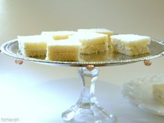 homework: creative inspiration for home and life: Etceteras: oh-so fancy cake stand