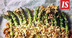 Tässä on parsalisuke, joka sopii ihan kaiken kanssa. Asparagus, Vegetables, Drinks, Food, Drinking, Studs, Beverages, Essen, Vegetable Recipes