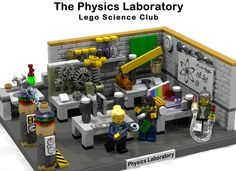 "Hello and welcome to my next reupload Lego Idea: The Physics Laboratory / Lego Science Club This Set is the ""Base"" of a physics laboratory and would contain: Workplate Lab."