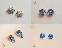 Bindi's accents with Swarovski crystals