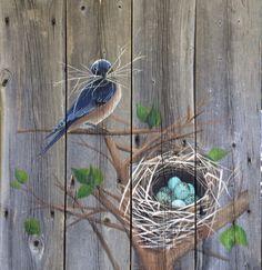 Alicia Doerksen, Art of a Country Girl, Blue bird