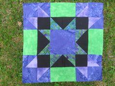 Amish Star quilt block