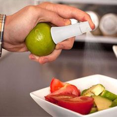 Mini Creative White Juice Juicer Lemon Fruits Sticker Sprayer Kitchen Tool #>=#>=#>=#>=#> Click on the pin to check out discount price, color, size, shipping, etc. Save and like it!