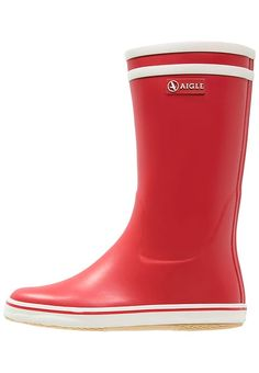 Aigle MALOUINE - Wellies - rouge for £54.99 (12/08/17) with free delivery at Zalando