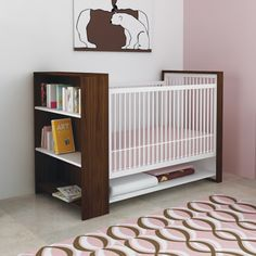 Great storage options on this crib - beautiful and functional!