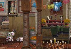 Zinnias, Second Life, Halloween, Pictures, Blog, Painting, Decor, Art, Photos