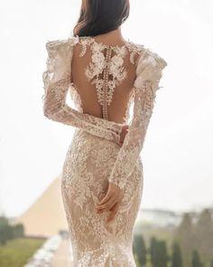 24 Stunning Trend: Tattoo Effect Wedding Dresses ❤ tattoo effect wedding dresses with long sleeves floral appliques juliakontogruni #weddingforward #wedding #bride #weddingoutfit #bridaloutfit #weddinggown