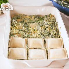 Spinach Mushroom Pasta, Spinach Artichoke Pasta, Spinach Bake, Spinach Casserole, Spinach Stuffed Mushrooms, Stuffed Artichoke Recipes, Chicken Artichoke Bake, Spinach Ravioli, Al Dente