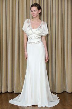 art deco wedding dress | This art deco-inspired Temperley wedding dress is simply beautiful (I ...