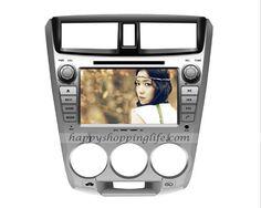 Android Car DVD Player for Honda City GPS Navigation Wifi 3G USB