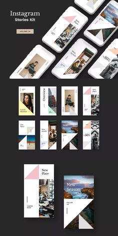 Altair PowerPoint Instagram Posts and Stories PSD  Download