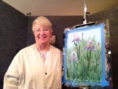 If you would love to learn how to paint iris, this single subject class will teach you step by step how to paint these beauties.