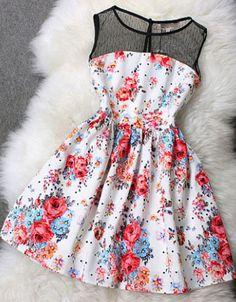 Un vestido muy cute