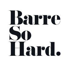 Barre So Hard *Exclusive* Tank