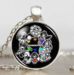 Necklaces & Pendants Smart Undertale Alphys Mettaton Game Gaming Gamer Mens Handmade Fashion Necklace Brass Pendant Steampunk Jewelry Gift Women Toy Chain Jewelry & Accessories
