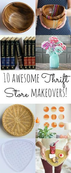 10 Awesome Thrift Store Makeovers for Under $20