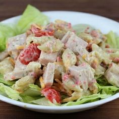 Club Pasta Salad Recipe