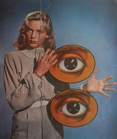 Lauren Bacall & Eyeballs. Amazeballs.