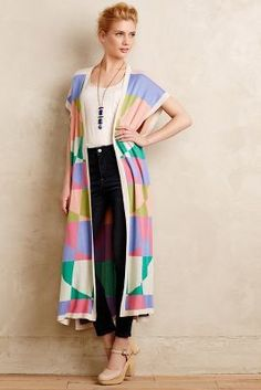 1f1195773b Mara Hoffman Chromaknit Poncho  anthroregistry Style Fashion