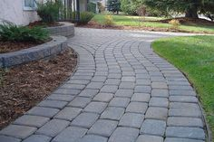 Cobble Paving Stone Pathway