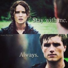 Hunger games Quote / Katniss / Peeta / Catching Fire / Star Crossed Lovers Of District 12