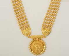 Indian Gold Jewelry-Necklace