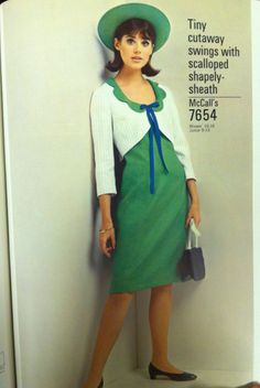 1965 McCall's pattern catalog page. #mccalls #vintagepatterns