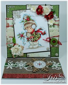 Whimsy's Berry - Easel Card
