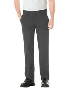 Slim Straight Fit Poplin Work Pant | Mens Pants | Dickies.com $23.99