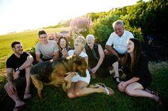 Fun Family Photo with Pet.  www.allypapko.com