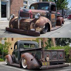 pictures of rat rod trucks Dodge Pickup Trucks, Old Ford Trucks, Jeep Truck, Diesel Trucks, New Trucks, Truck Drivers, Custom Trucks, Hot Rod Trucks, Cool Trucks