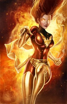Dark Phoenix by pinkhavok.deviantart.com on @deviantART