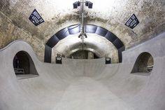 Vans Converts London Tunnels into Indoor Skate Park, Art Venue