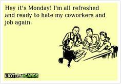 Hey, it's Monday! #ecards