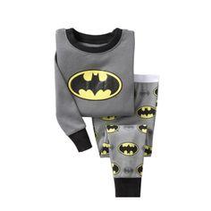 Batman Boy pajamas suit Super Hero Long Sleeve Pajama Children pijama Kids Sleepwear clothes at home nightgown Cotton Costume Batman, Batman Costume For Kids, Costume Garçon, Baby Boy Pajamas, Girls Pajamas, Baby Outfits, Childrens Pyjamas, I Am Batman, Kid Outfits