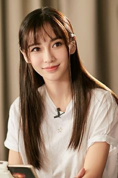 Angelababy, Cute Japanese Girl, Beautiful Asian Girls, Woman Crush, Bellisima, Beauty Women, Asian Beauty, Long Hair Styles, Celebrities