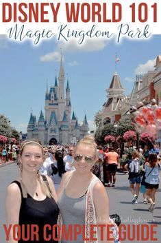 Your complete guide to Disney's Magic Kingdom at Walt Disney World in Florida! A complete breakdown of every land and experience at my favorite park! Disney World Florida, Walt Disney World Vacations, Disney World Resorts, Disney Travel, Disney Secrets, Disney World Tips And Tricks, Disney Tips, Magic Kingdom Tips, Disney World Magic Kingdom