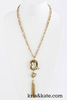 Gold tassles right on trend...  https://www.krisandkate.com/dealoftheday.html