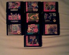 SEGA LOT (SEGA GENESIS) (RARE GAMES)