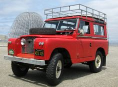 '64 Land Rover Defender Series 2A SWB 88 ... w/ gas 2.25L and Weber DGV on a Pierce manifold.