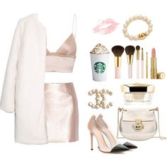 A fashion look from October 2015 by mariewaldorf featuring MANGO, T By Alexander Wang, Morgan, Gianvito Rossi, Chloé, Chanel, AERIN, Elizabeth Arden and Guerlain