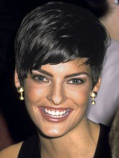 Short - This one was in 1989 and this is definitely a trend that is making its way back around! ICONIC hair!